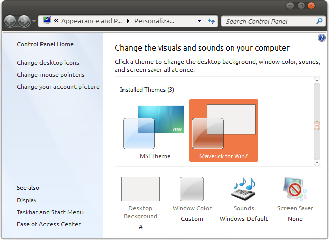 themes maker software free  for windows 7
