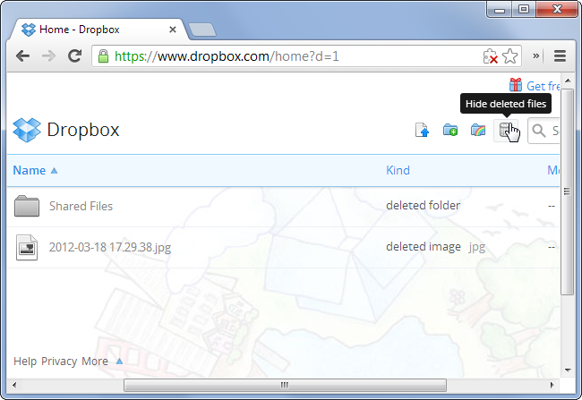 show-deleted-files-in-dropbox