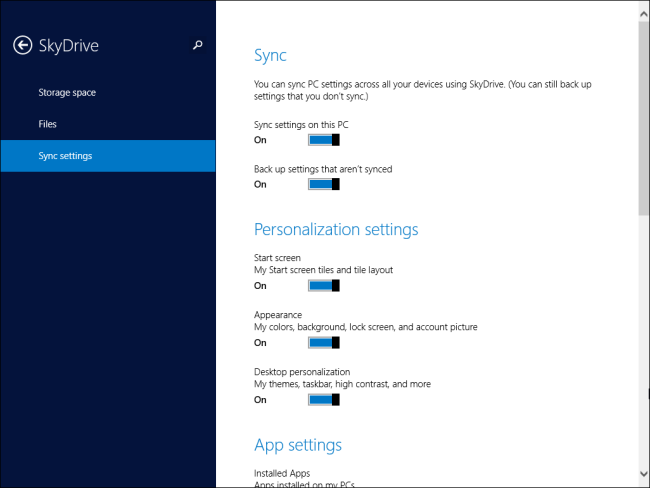 skydrive-sync-settings