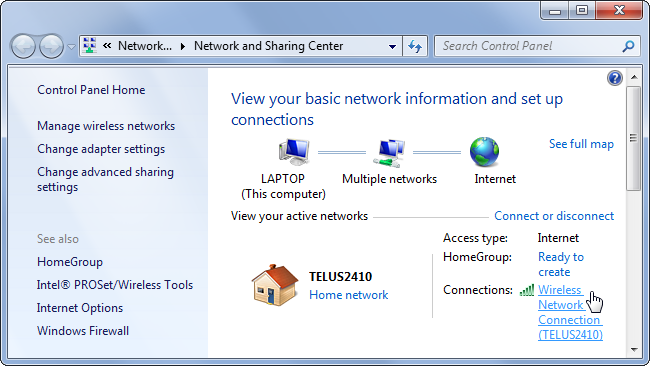 windows-network-and-sharing-center-connection