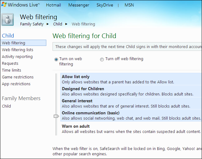 windows-live-family-safety-web-filtering