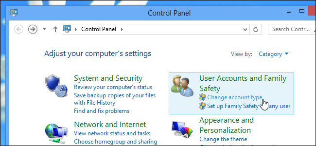how to make a guest account on windows 8