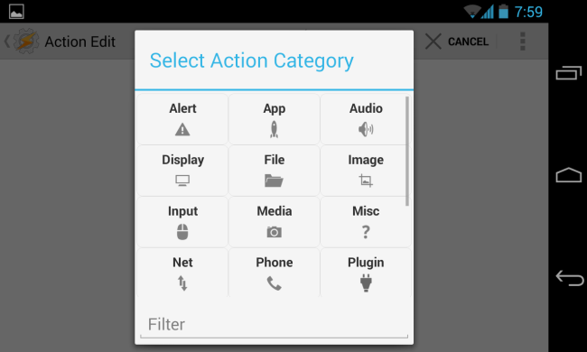 tasker-select-action