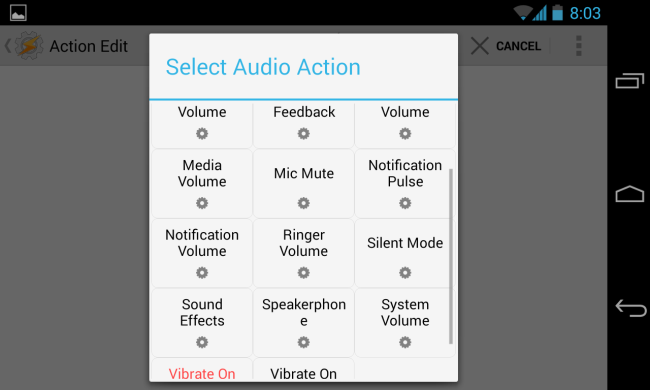 tasker-select-audio-action