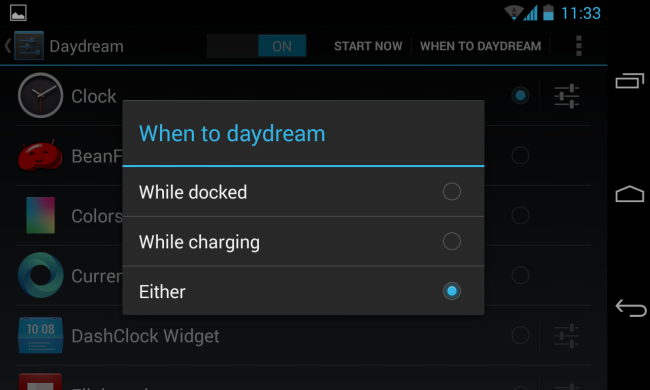 5+ Cool Uses for Android's Daydream Mode