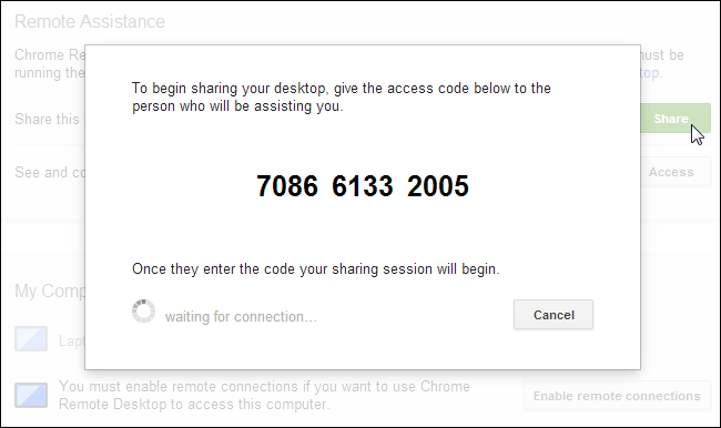 chrome-remote-desktop-access-code