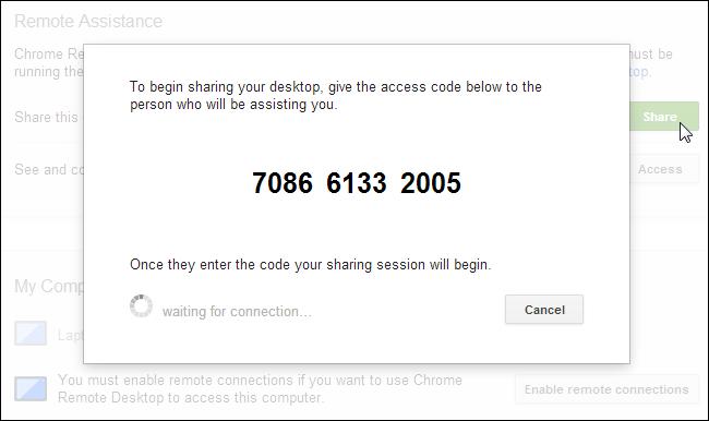 chrome-remote-desktop-access-code