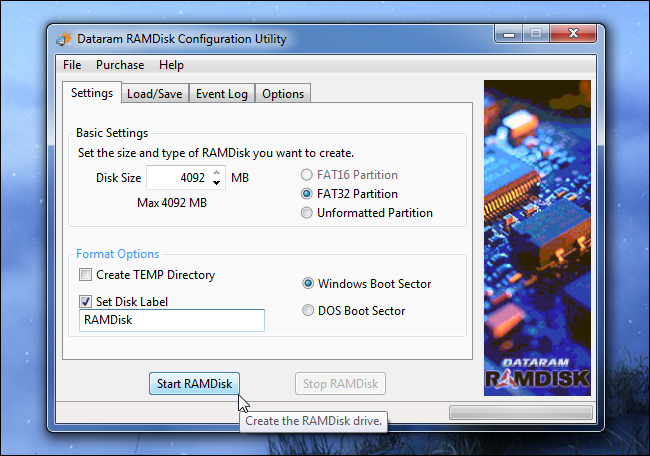 create-ramdisk-on-windows