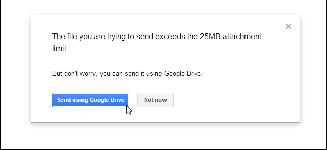 How to send a large video via gmail