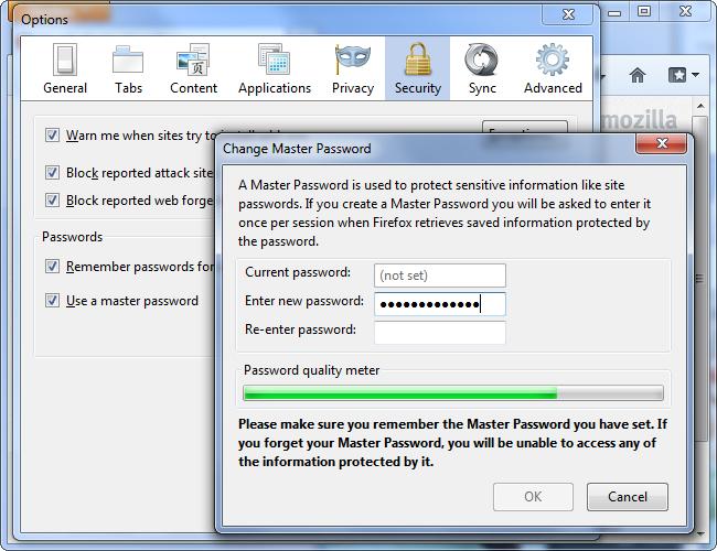 set-master-password-in-firefox
