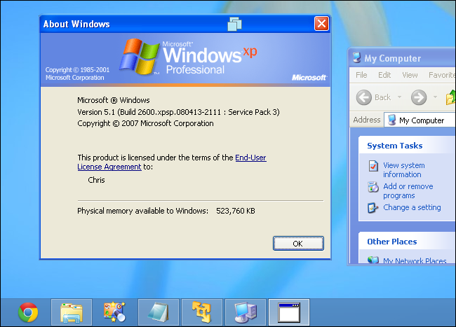 vmare-player-windows-xp-mode