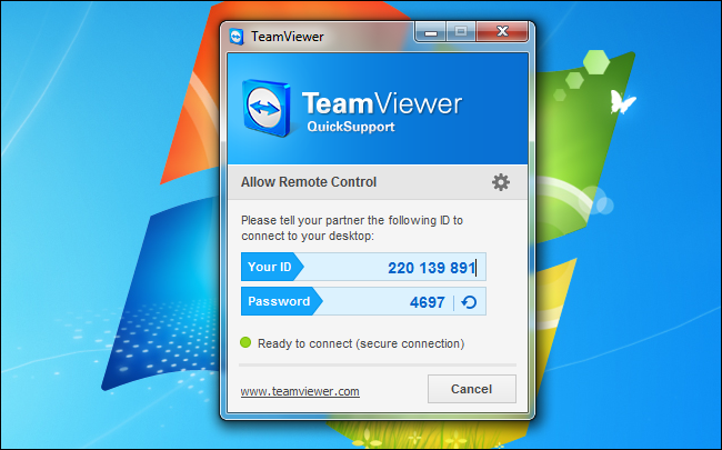 teamviewer-quick-support