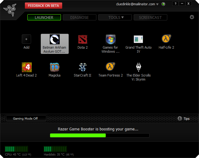 game booster for windows 8 free