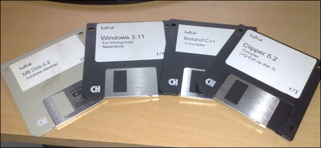 ancient-windows-3.11-software-disks