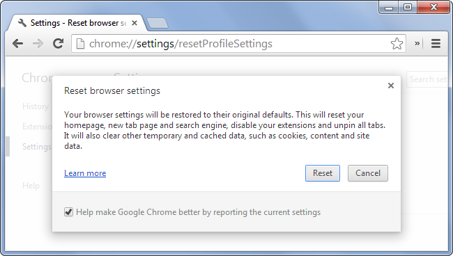 chrome-reset-browser-settings-information