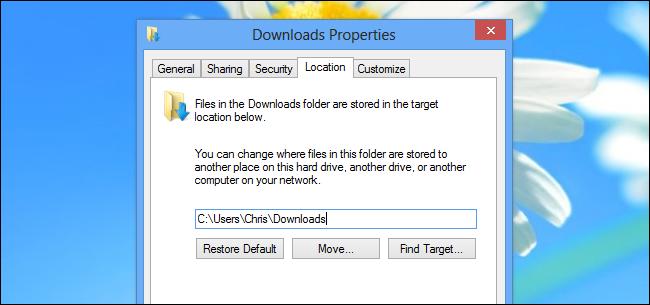 change-user-folder-location