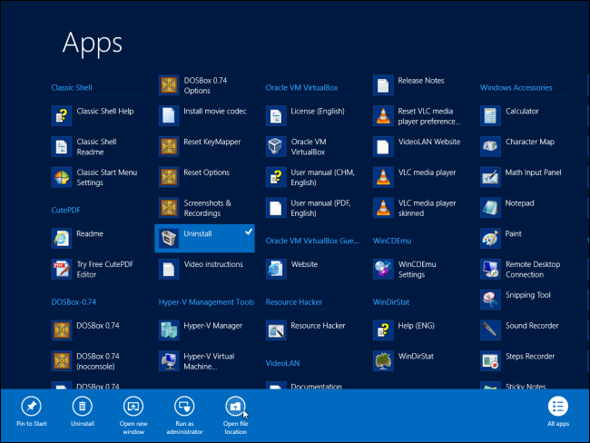 how to remove a program from the startup menu in windows 8