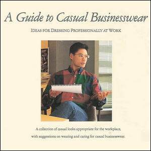 The cover of Levi's 1992 guide to casual office wear
