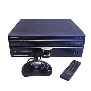 Image of the laser-disc-based video game system
