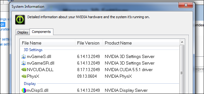 nvidia-graphics-driver-files
