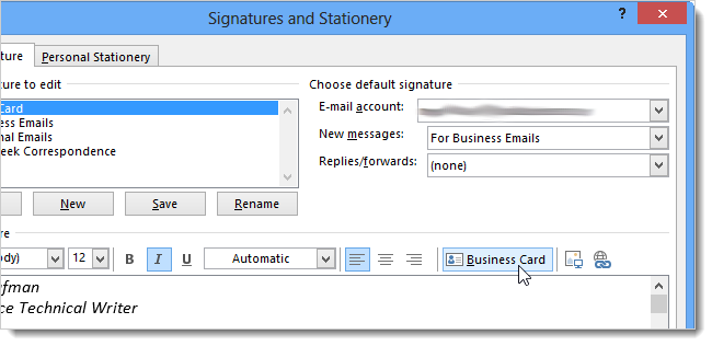 how to add a picture to outlook 2013 contact