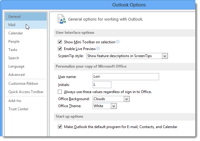 how to add a business card image to a signature in outlook