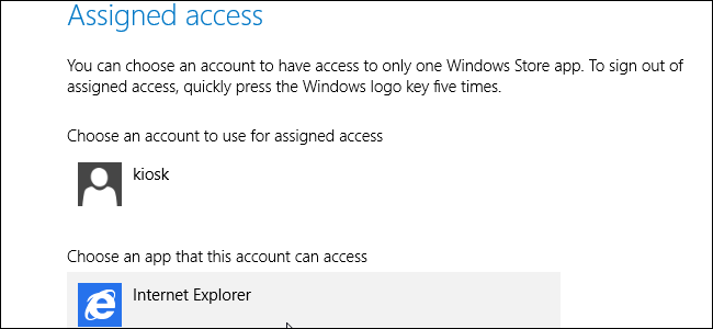 windows-assigned-access