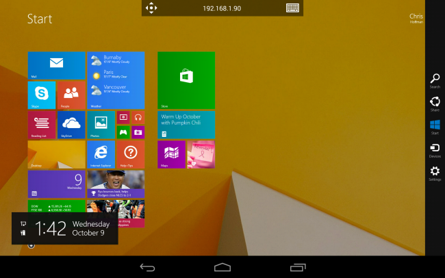 How to Access a Windows Desktop From Your Tablet or Phone