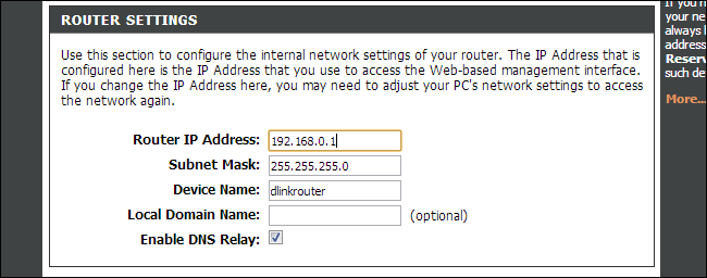 how to know the dns of my router