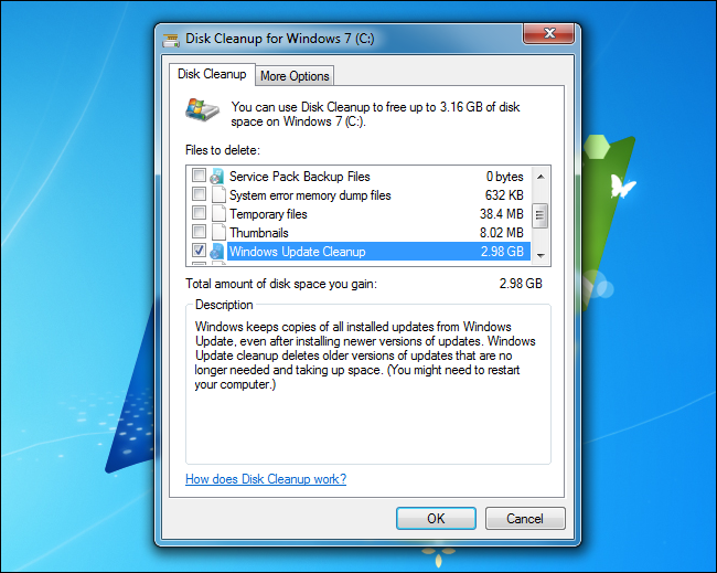 How to Reduce the Size of Your WinSXS Folder on Windows 7 or 8