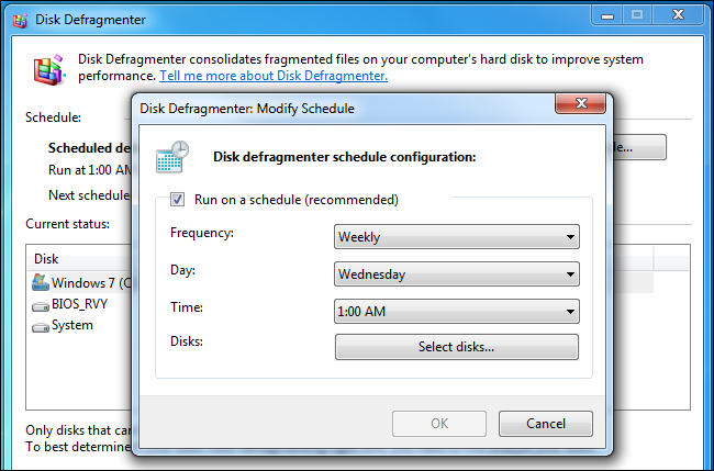 disk-defragmenter-schedule