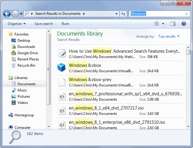 How to Use Windows' Advanced Search Features: Everything You Need ...