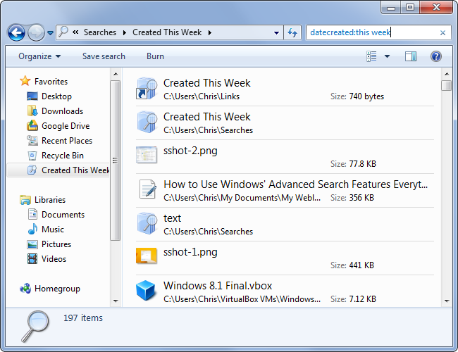 using-a-saved-search-in-windows-7