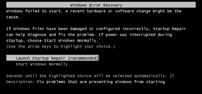 What to Do When Windows Won't Boot
