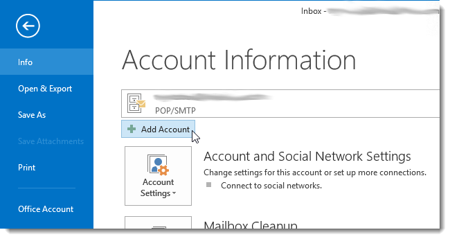 How To Open Gmail Account In Outlook Import Gmail to Outlook