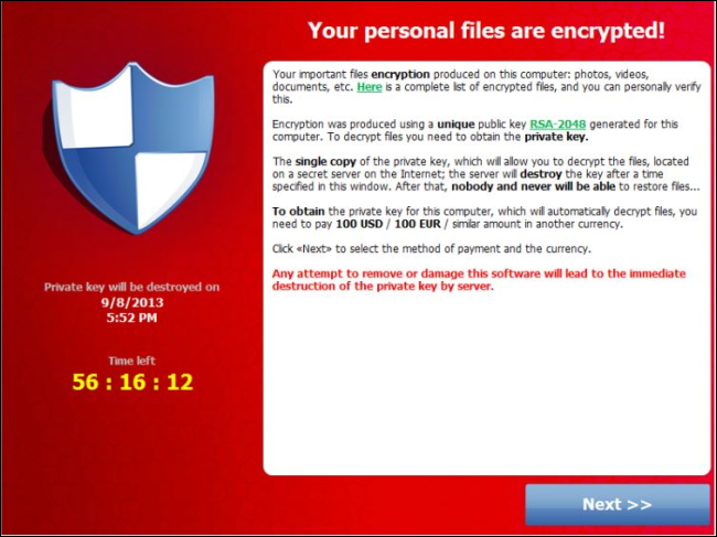 Image result for ransomware example