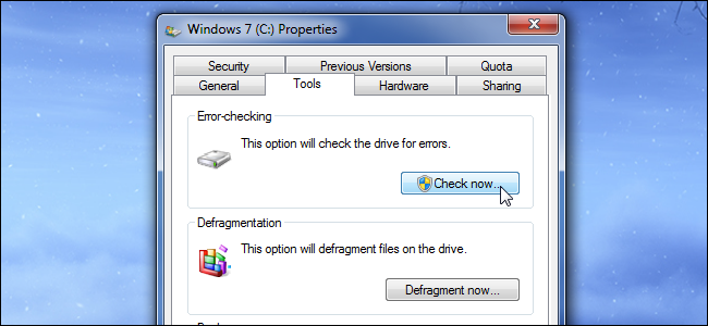 windows-disk-error-checking