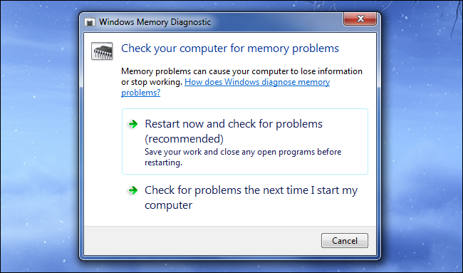windows-memory-diagnostic