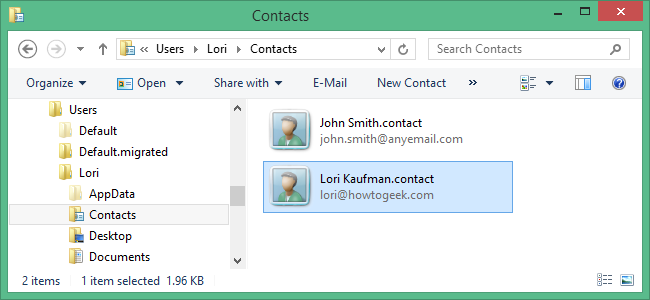 How to Import Contacts Into and Export Contacts From the