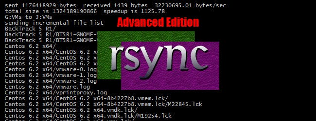 The Non-Beginner's Guide to Syncing Data with Rsync