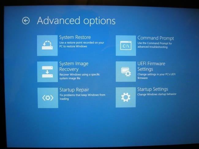 windows 10 uefi firmware setting missing