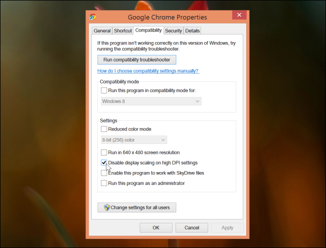 How to Make the Windows Desktop Work Well on High-DPI Displays and