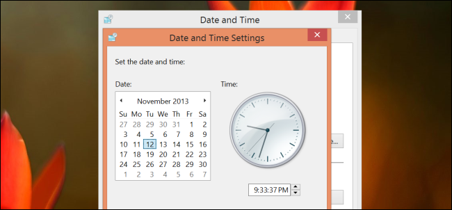 change-system-clock