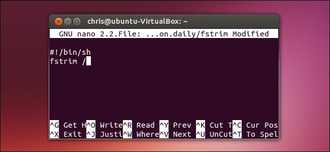 create-fstrim-cron-job-ubuntu