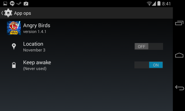 disable-app-permission-on-android