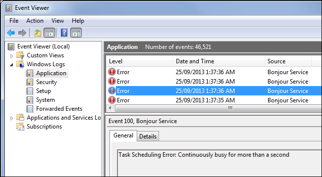 event-viewer-errors