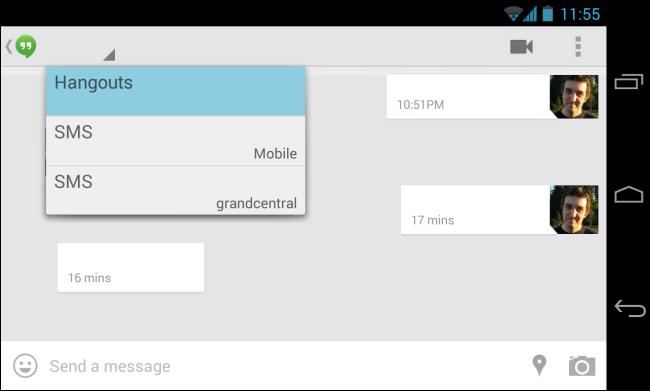 hangouts-sms-integration