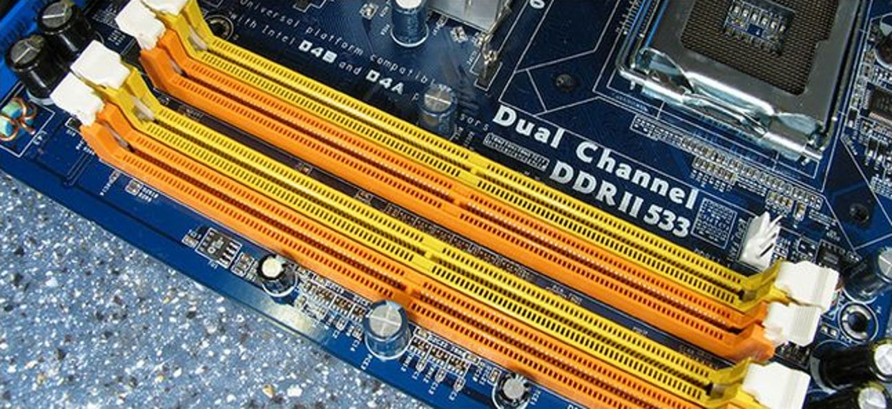 What Does The Ram Slot Color Coding On Motherboards Mean