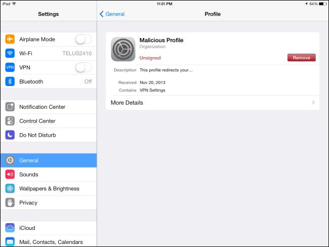 remove-configuration-profile-on-ipad
