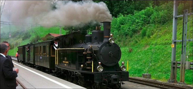 steam engine train